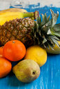 Fresh various fruits Stock Image