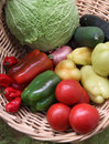 Fresh vegetable Royalty Free Stock Photos