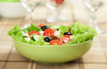 Fresh vegetable salad in a bowl Stock Photos