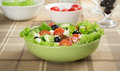 Fresh vegetable salad in a bowl Royalty Free Stock Images