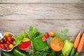 Fresh vegetable smoothie Royalty Free Stock Photo