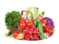 Fresh vegetable and useful vegetables for every taste Royalty Free Stock Photography