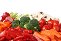 Fresh vegetable variety Royalty Free Stock Image