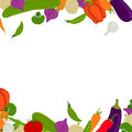 Fresh vegetables illustration of a background with abstract Royalty Free Stock Photography