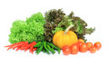 Fresh vegetables isolate Royalty Free Stock Photography