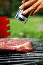 Fresh and very tasty steak Royalty Free Stock Photo