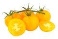 Fresh Vine Ripened Amber Tomatoes Royalty Free Stock Photo