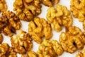 Fresh walnut nuts isolated Royalty Free Stock Photo