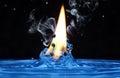 Čerstvý voda horký