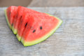 Fresh water melon Royalty Free Stock Photo