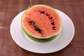 Fresh watermelon fruit on background