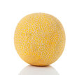 Fresh yellow cantaloupe melon Stock Photography