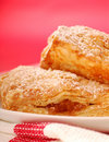 Freshly baked apple turnovers Royalty Free Stock Photography