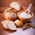 Freshly baked bread Royalty Free Stock Photo