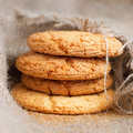Freshly baked homemade cookies Stock Images