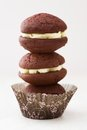 Freshly Baked Whoopie Pies Stock Images