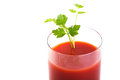 Freshly blended tomato juice Stock Photo