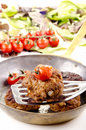 Freshly fried meat balls Royalty Free Stock Photo