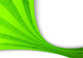 Freshness ecology green wave clip art Stock Photography