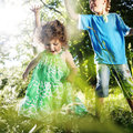 Freshness Friendship Playful Togetherness Relax Concept