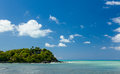 Friar's bay on St Martin in Caribbean Stock Images