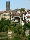 Fribourg ( Switzerland ) Royalty Free Stock Images