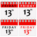 Friday 13 Stock Photography