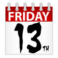 Friday 13th Calendar Icon