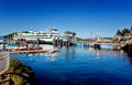 Friday Harbor, San Juan Island Stock Photo