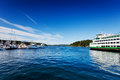 Friday Harbor, San Juan Island Stock Photography