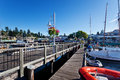 Friday Harbor, San Juan Island Royalty Free Stock Photo