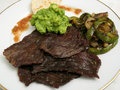 Fried Beef Cecina Royalty Free Stock Photo
