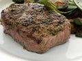 Fried beef steak Royalty Free Stock Photo