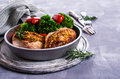 Fried chicken breast Royalty Free Stock Photo