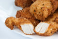 Fried chicken meat Royalty Free Stock Photo