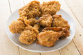 fried crispy chicken Royalty Free Stock Photo