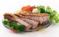 Fried crispy pork Stock Image