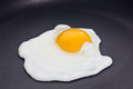 Fried egg, sunny side up Royalty Free Stock Images