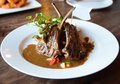 Fried lamb chops Royalty Free Stock Photo
