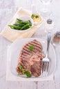 Fried lamb fillet Royalty Free Stock Photo