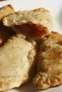 Fried leek pastry da índia Fotos de Stock Royalty Free