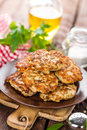 Fried meat cutlets Royalty Free Stock Photo