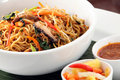 Fried noodle asian food Royalty Free Stock Photography