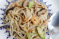 Fried noodle in chicness new year festival Stock Photography