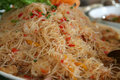 Fried noodles Royalty Free Stock Photo