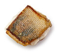Fried pike perch fillet Royalty Free Stock Photo