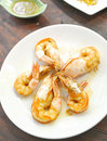 Fried prawn Royalty Free Stock Images