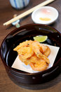 Fried prawn food Stock Images
