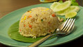 Fried rice Photo stock