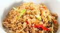 Fried rice asia food Royalty Free Stock Images